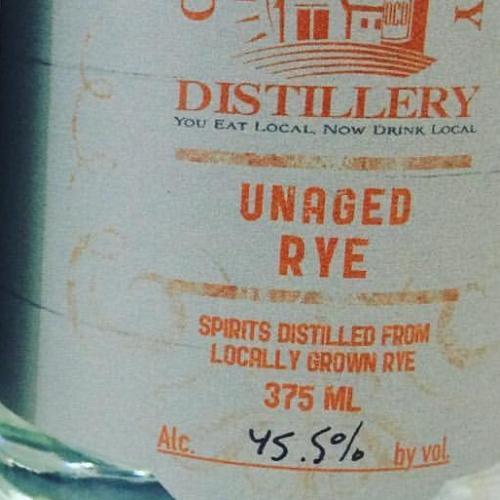 Unaged Rye Whiskey
