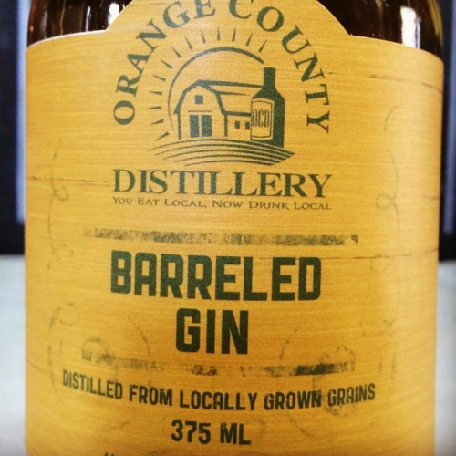 Barreled Gin