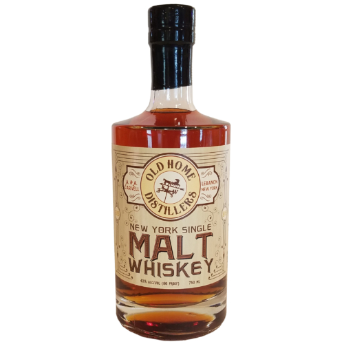 Old Home Distillers New York Single Malt Whiskey