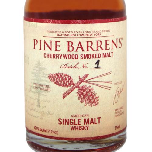 Pine Barrens Cherrywood Smoked Single Malt