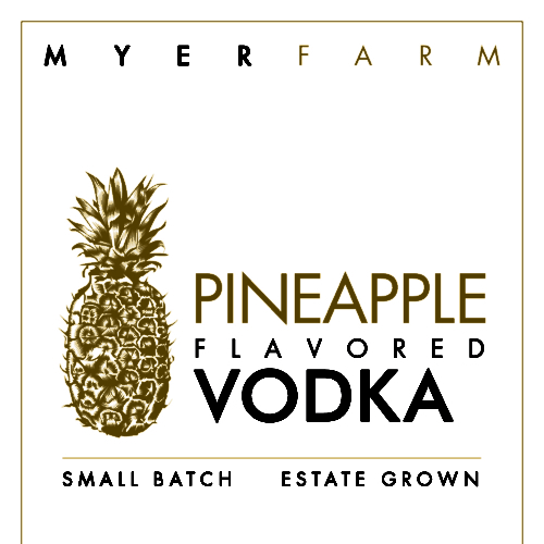 Myer Farm Pineapple Flavored Vodka