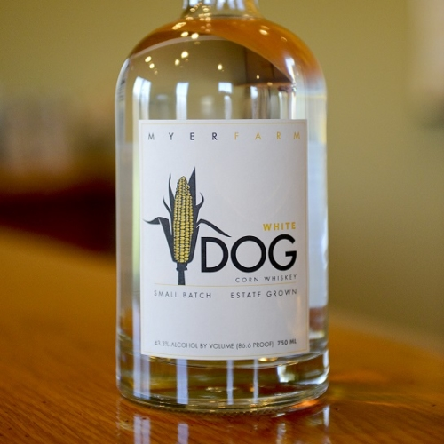 Myer Farm White Dog Corn Whiskey