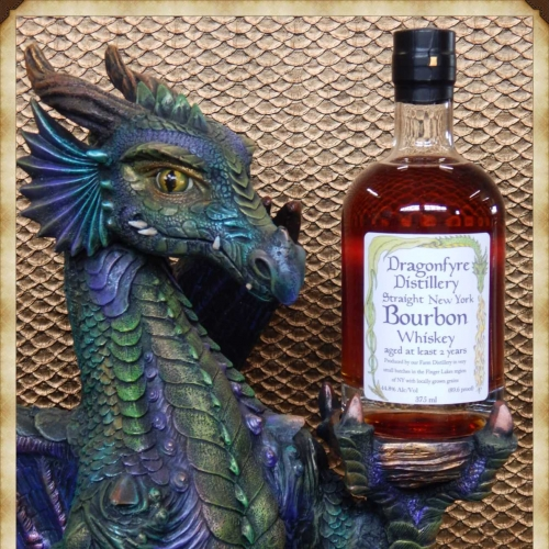 Dragonfyre Distillery's Straight New York Bourbon Whiskey